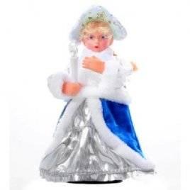 Снегурочка игрушка с фонариком музыкальная подвижная 43003
