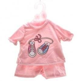 Одежда для кукол  Футболка и шорты розовые DBJ-434A-B-J001