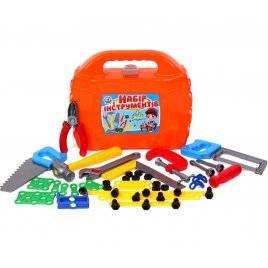 Набор инструментов в чемодане 4388 оранжевый Технок