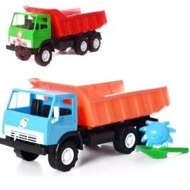 Машина-грузовик К-маз с лопаткой и пасочкой X3 443 Орион, Украина