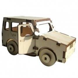 Набор для творчества деревянный Спортивная машина/Пикап 70522/70519 Вудмастер