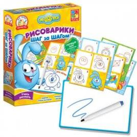 Рисоварики. Шаг за Шагом Крош или Нюша VT4502-02/4502-01