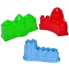 Пасочки 4 штуки  для песка Крепость Toys Plast