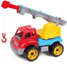 Машина для мальчиков пластиковая Автокран 4562 Технок