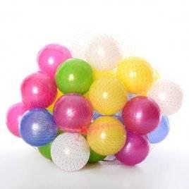 Набор шариков перламутровых 80 штук 467 ОРИОН в сетке