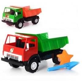 Машина-грузовик К-маз с лопаткой и пасочкой 471 Орион, Украина