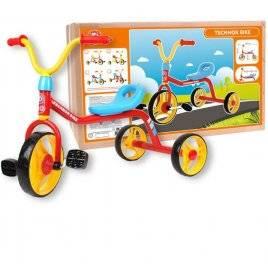 Велосипед детский трехколесный с прочной стальной рамой 4746 ТехноК