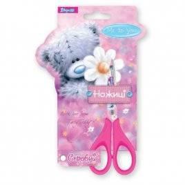 Ножницы для девочки 13 см розовые 3 вида