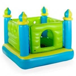 Батут надувной кваратный Королевский Замок 48257 Intex