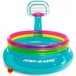 Бассейн детский надувной с баскетбольным кольцом 48265 Intex