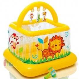 Надувной детский батут-манеж 48473 Intex