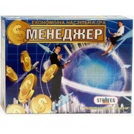 Настольная игра Менеджер 485 Стратег