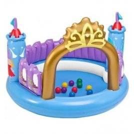 """Игровой центр надувной с шариками """"Замок"""" Intex 48669"""