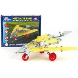 Конструктор металлический Самолет-невидимка 4869 ТехноК