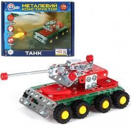 Конструктор металлический Танк 4951 Технок