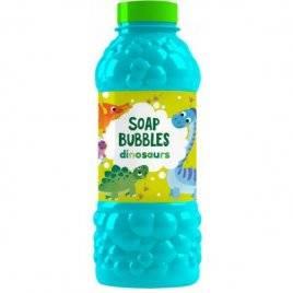 Запаска для мыльных пузырей Динозаврики 450 мл 500103 DoDo