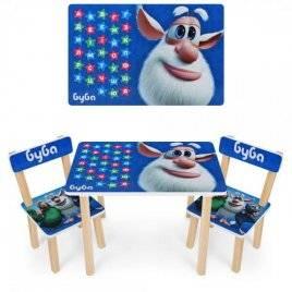 Детский столик и два стульчика Буба  501-103