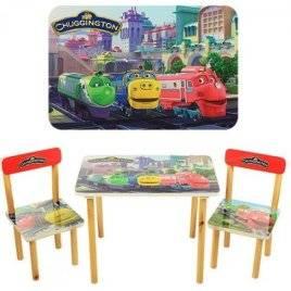 Детский стол и стулья Паровозики Чагинтон 501-20