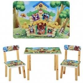 Детский стол и 2 стула Теремок 501-33 Vivast, Украина