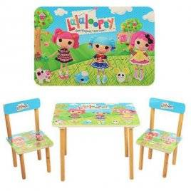 Детский стол и 2 стула Lalaloopsy 501-3 Vivast, Украина