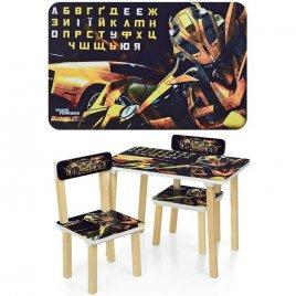 Детский стол и 2 стула Трансформеры Бамблби Bumblbi 501-54