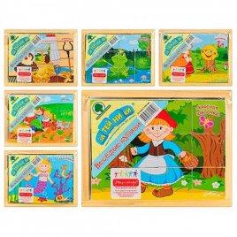Кубики деревянные Сказки 5031