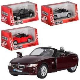 Машинка KINSMART 1:38 BMW  Z4 кабриолет KT5069W инерционная