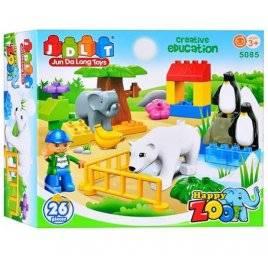 Конструктор Зоопарк 26 деталей JDLT 5085