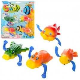 Заводные игрушки для купания Морские животные MY508