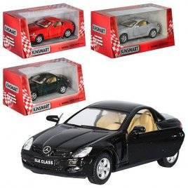 Машинка KINSMART 1:38 Benz SLK Klass KT5095W инерционная