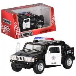 Машинка KINSMART Полиция 1:40 Police Пикап KT5097WP инерционная
