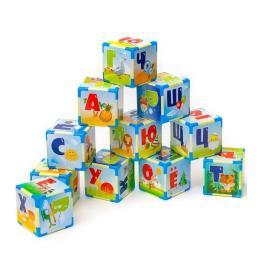 Кубики пластмассовые Азбука малые 511 в.3