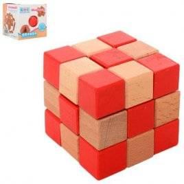 Головоломка деревянная куб 5150