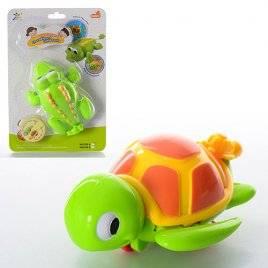 """Заводные игрушки """"Черепашка""""  и """"Крокодил"""" 518АВ"""