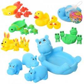 """Пищалки для купания """"Забавные животные"""" резиновые 522-3-4"""