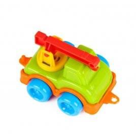 Машина мини пластиковая Автокран  5224