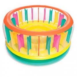 Батут надувной детский диаметр 180-86 см BW 52262 Bestway