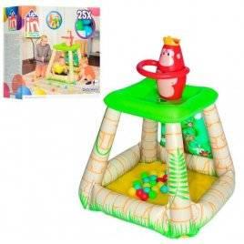 Игровой центр Джунгли + 25 шариков 52266 Bestway