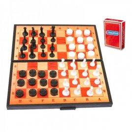 Настольная игра Шашки, шахматы, карты  и нарды 5240 Максимус