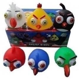 """Пищалка со светом и вылазящими глазами """"Angry Birds"""" 525-7"""
