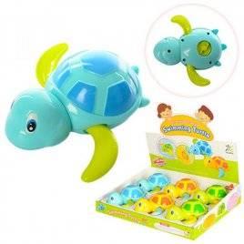 Заводная водоплавающая игрушка черепашка 527A