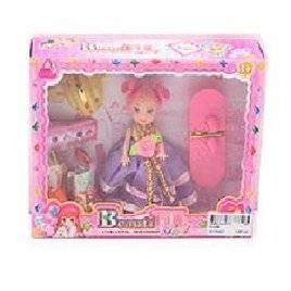 Мини куколка с нарядами 5308