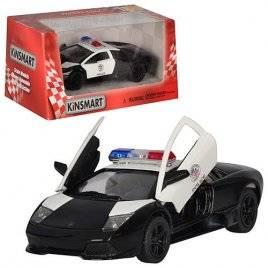 Машинка KINSMART 1:36 Lambordghini Полиция KT 5317 WP