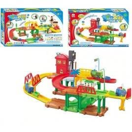 Железная дорога детская Паровозик Томас 2 уровня 533-23