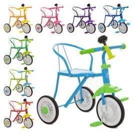 Велосипед детский трехколесный с клаксоном 5335