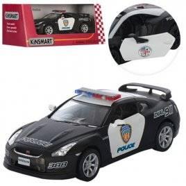 Машинка KINSMART Полиция 1:38 инерционная металлическая KT5340WP