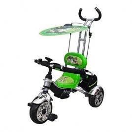 Велосипед трехколесный детский с ручкой BEN10 5342