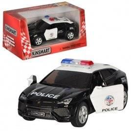 Машинка KINSMART полиция 1:38 инерционная  5368 WP