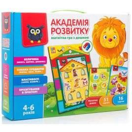 Магнитная игра с доской Академия развития VT5412-03 Vladi Toys