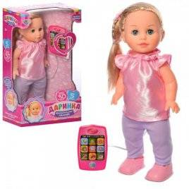Кукла Даринка  на дистанционном управлении ходит UA M 5445 Limo Toy